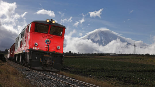 Train Andes