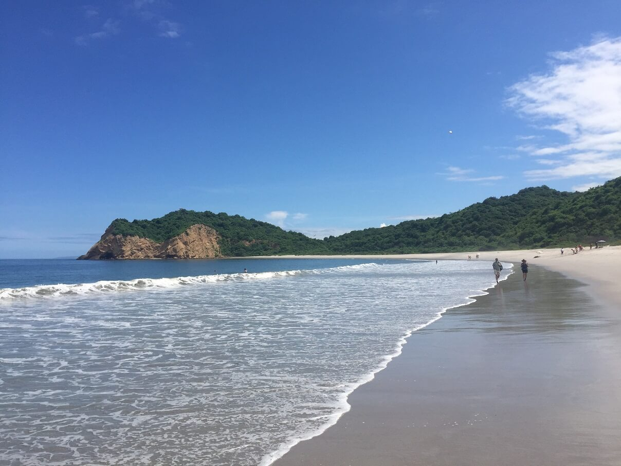 Machalilla - one of Ecuador's best beaches