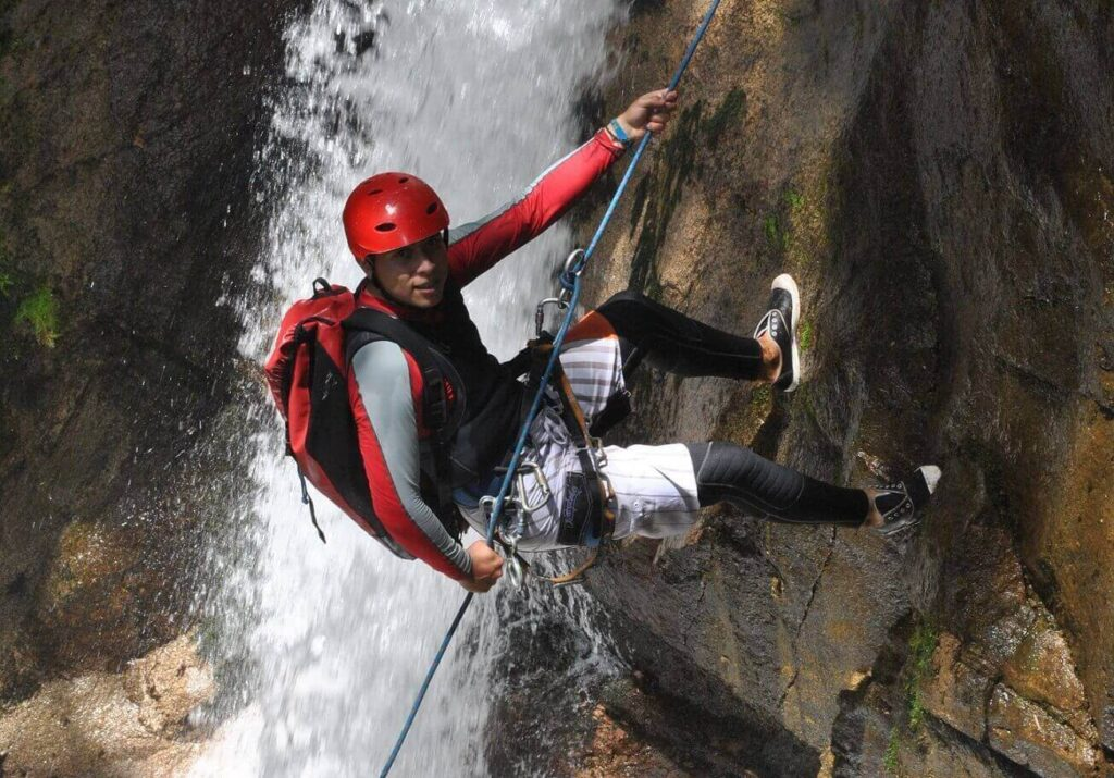 canyoning-ECUADOR