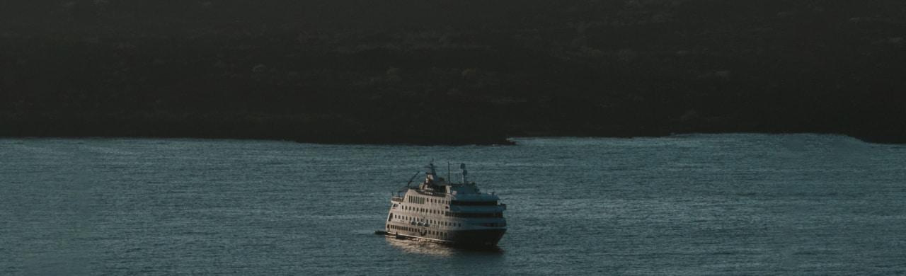 cruise in Galapagos