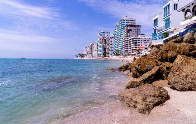 Ecuadorian beach towns