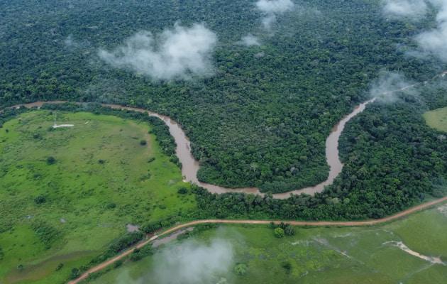 Rivers in the Amazon ecuador